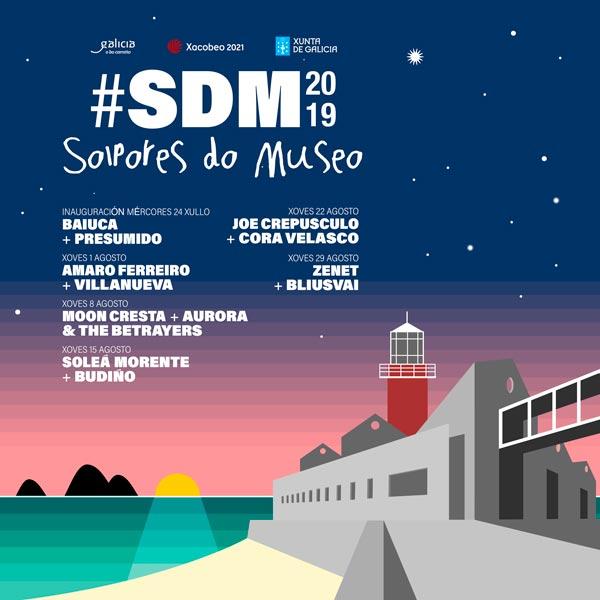 Presumido e Baiuca abriran  o 'Solpores do Museo' o vindeiro día 24 de xullo