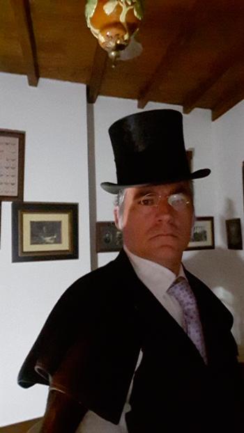 Suso Martínez como Casimiro Barcal na Casa da Troia