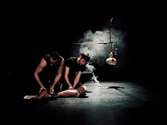 Estrea de 'SOMA' do coreógrafo Javier Martín e o escultor Joaquín Jara en coprodución co CDG