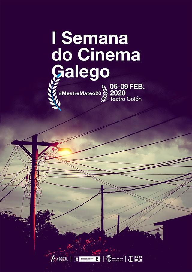 A Semana do Cine Galego da Coruña prepara o ambiente dos Premios Mestre Mateo