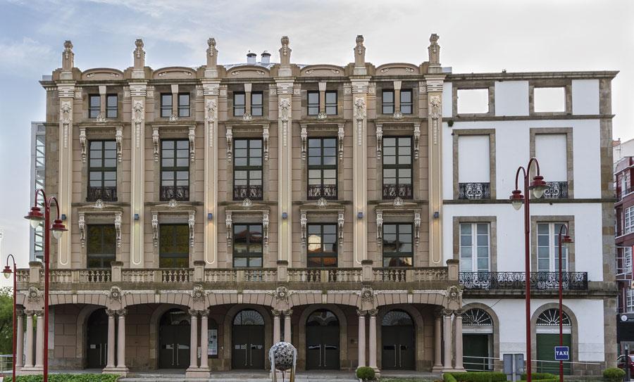 O Centro Torrente Ballester amosa o traballo o arquitecto que mudou a face da cidade