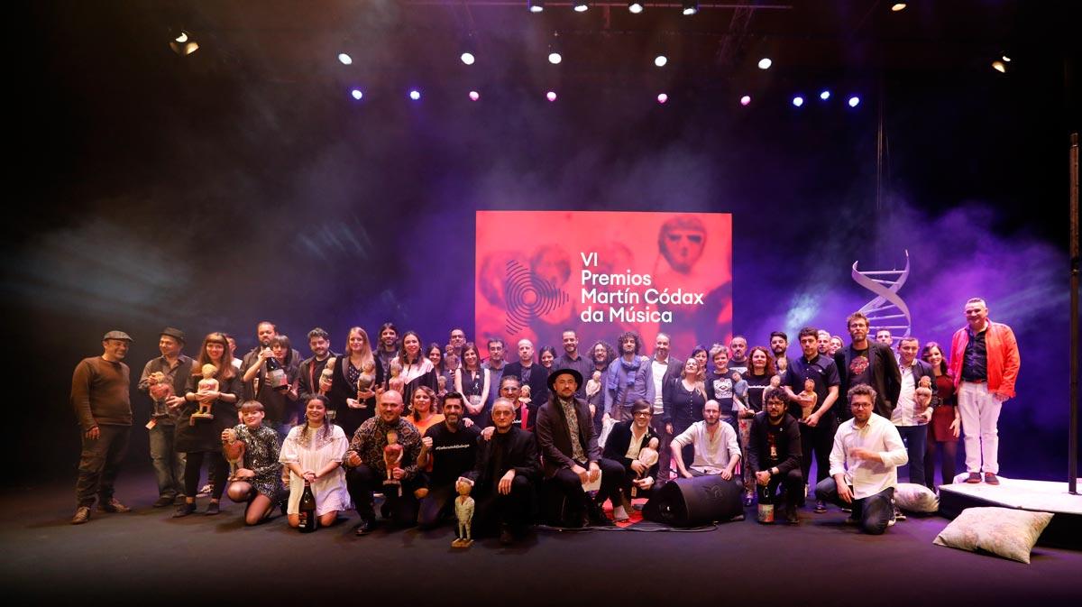 A gala de entrega dos VI Premios Martín Códax amosa a forza dunha identidade musical chea de influencias e variedade que reclama visibilidade