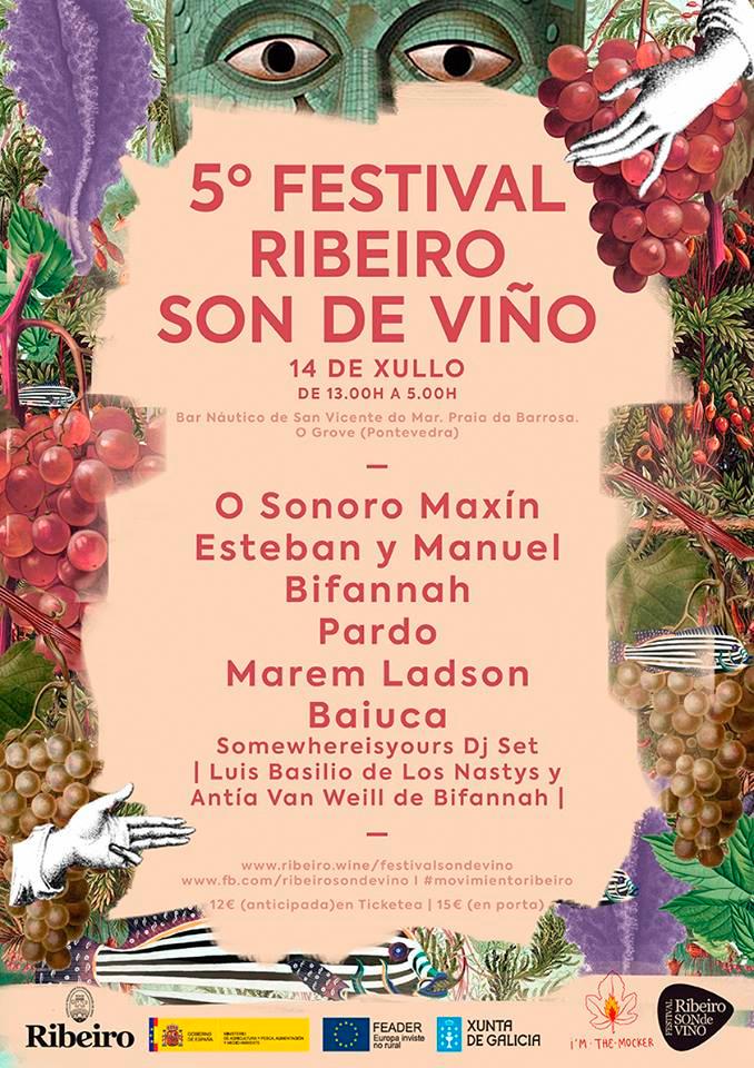 Os festivais FaCeLa fest e Ribeiro Son do Viño pechan carteis