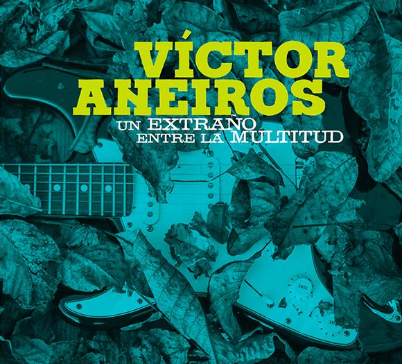 Víctor Aneiros cambia de ritmo e idioma no seu oitavo álbum