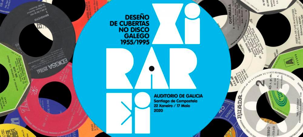 A exposición 'Xirarei' fai unha homenaxe a corenta anos de deseño de discos