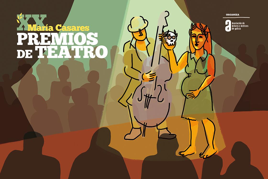 Teatro do Atlántico triunfa nos XX Premios María Casares