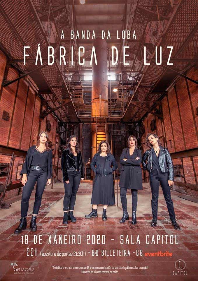 A Banda da Loba presenta o seu segundo disco 'Fábrica de Luz'