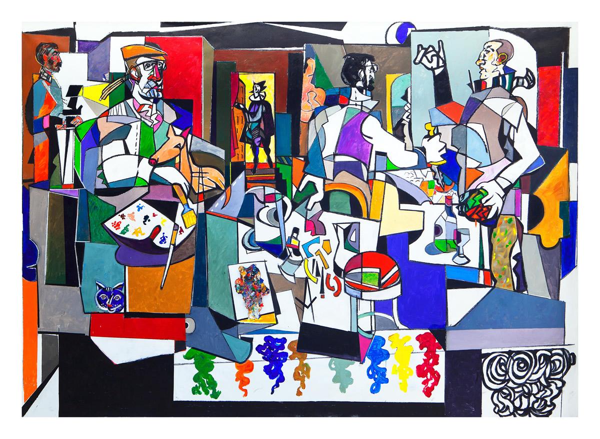 A mostra recolle un cento de obras do artista