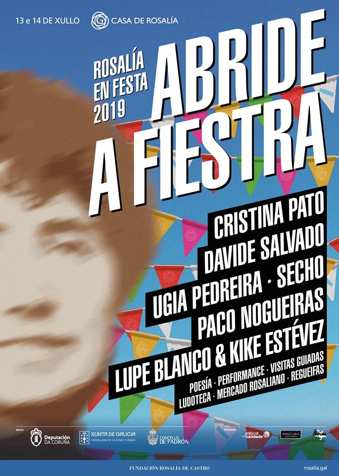 Cristina Pato, Davide Salvado, Ugia Pedreira, Secho ou Paco Nogueiras fan parte do programa
