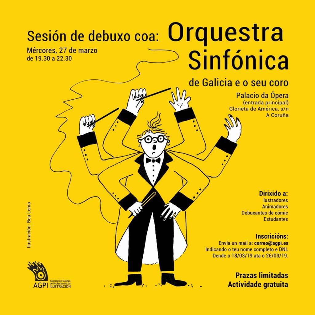 Un ensaio da Orquestra Sinfónica de Galicia o vindeiro 27 de marzo abrirá esta actividade