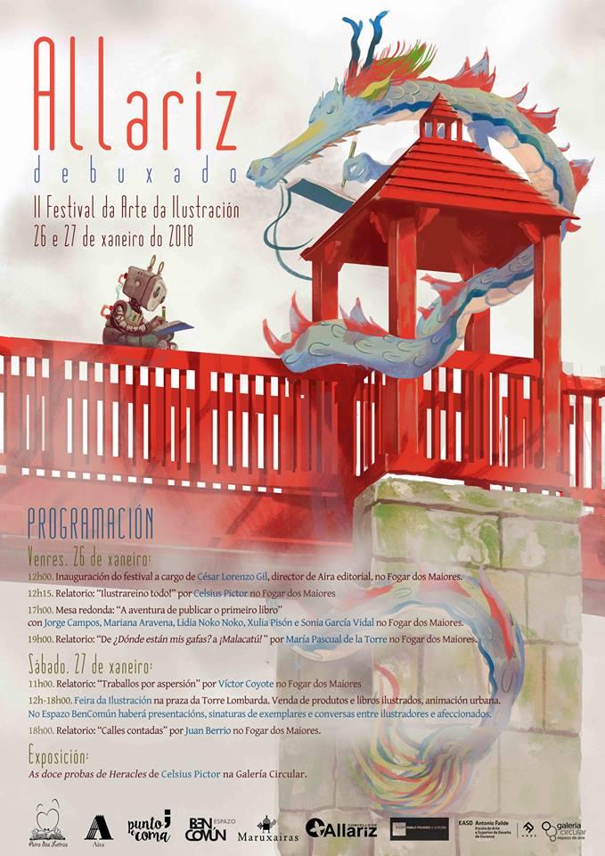 Allariz Debuxado amplía programa na súa segunda edición