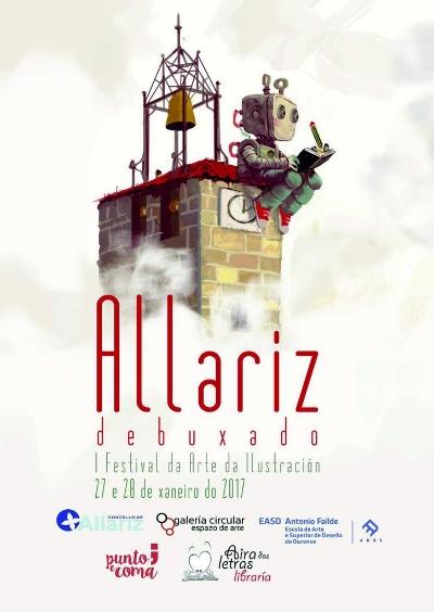 Allariz inaugura o seu primeiro festival dedicado á ilustración