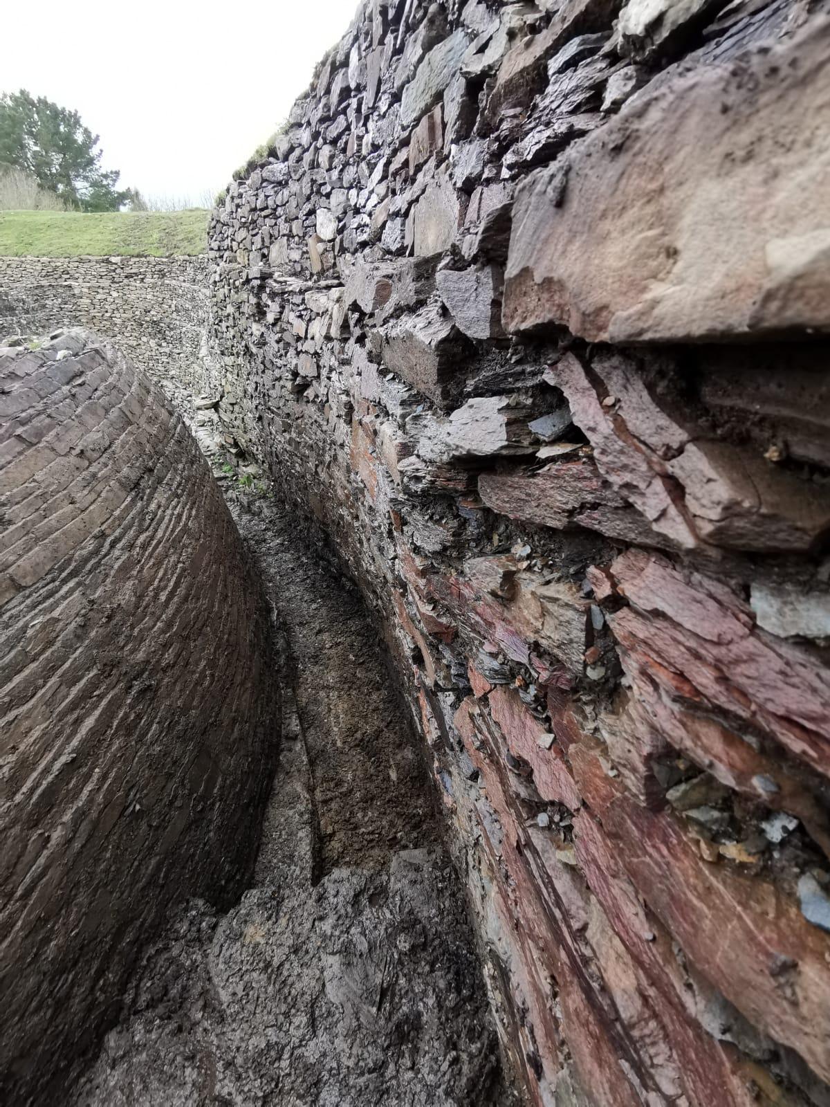 A campaña arqueolóxica deste ano desvela novas estruturas