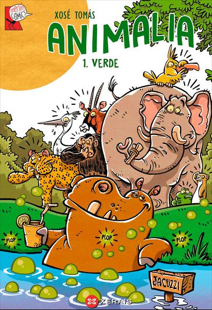 Está xa á venda o primeiro volume de <i>Animalia</i> na colección
