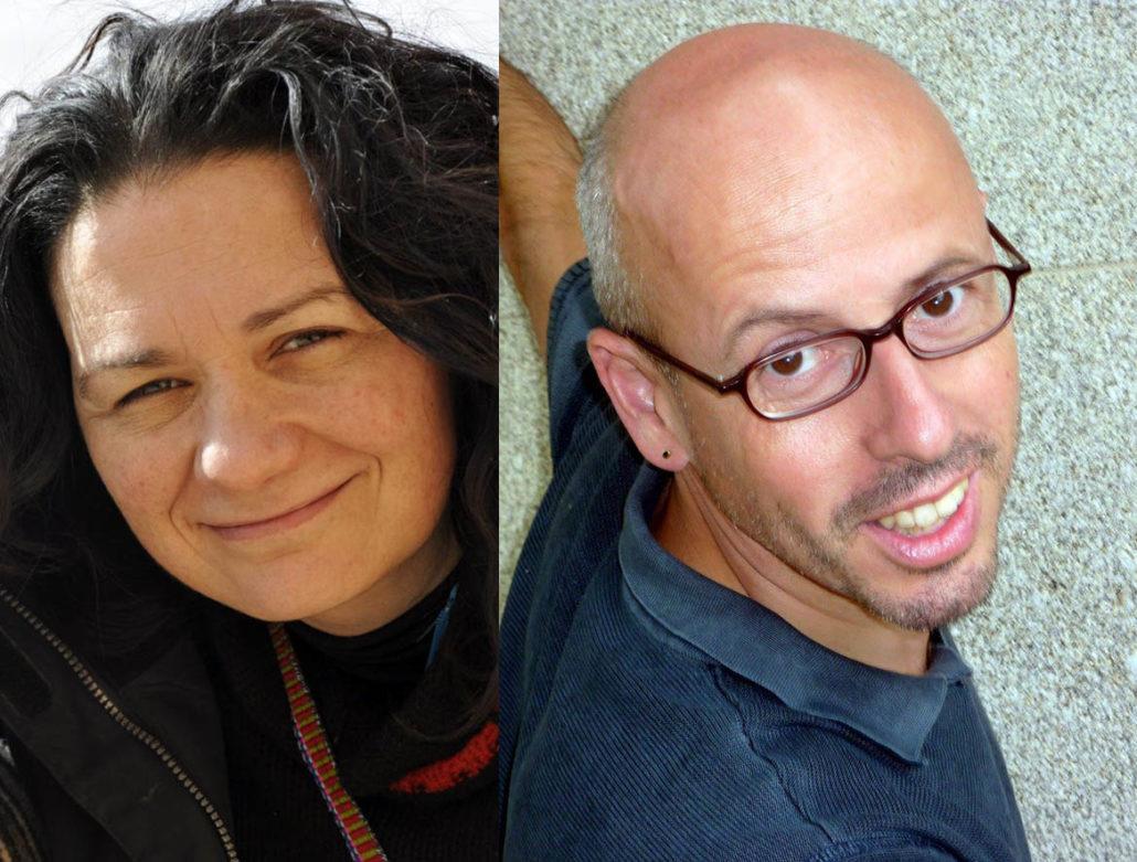 Ánxela Gracián e Pere Tobaruela levan o Premio Meiga Moira