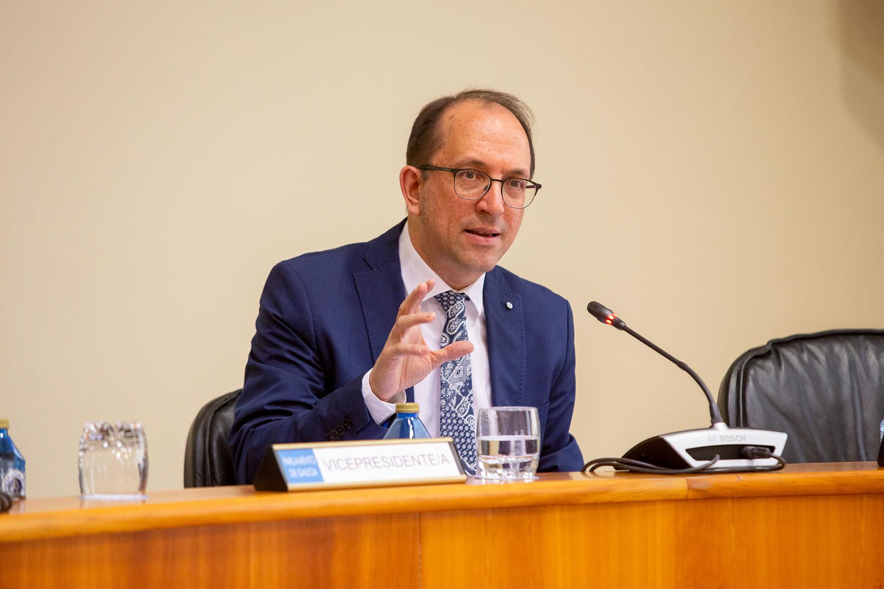 Anxo Lorenzo adianta no Parlamento a Estratexia da Cultura Galega 2021
