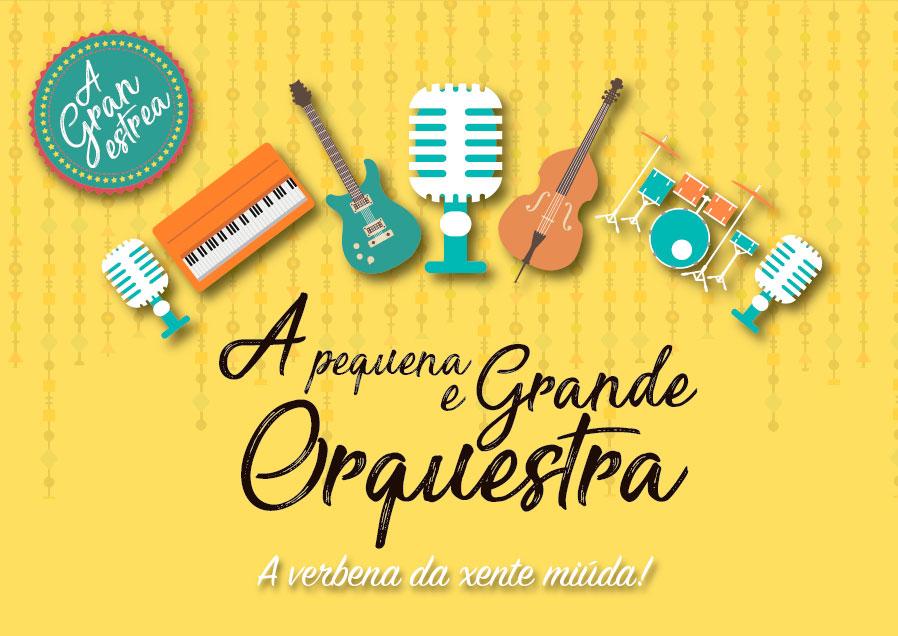 A fórmula da orquestra de verbena chega ao público infantil
