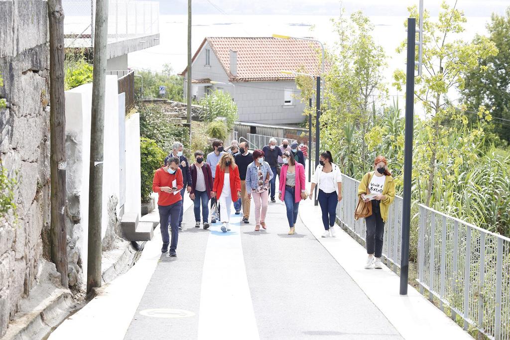 A vía é agora o maior tramo peonil e ciclable de Galicia, con case seis quilómetros