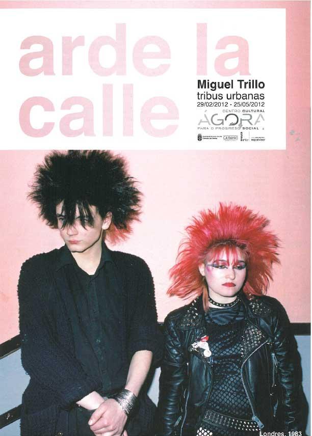 O traballo de Miguel Trillo abre todo un programa sobre as tribos urbanas
