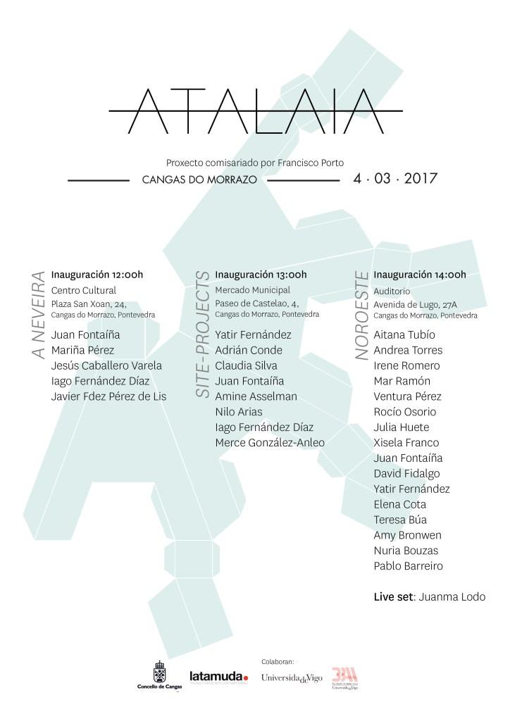 Unha selección de trinta creadores amosa mañá os seus traballos en tres espazos da vila