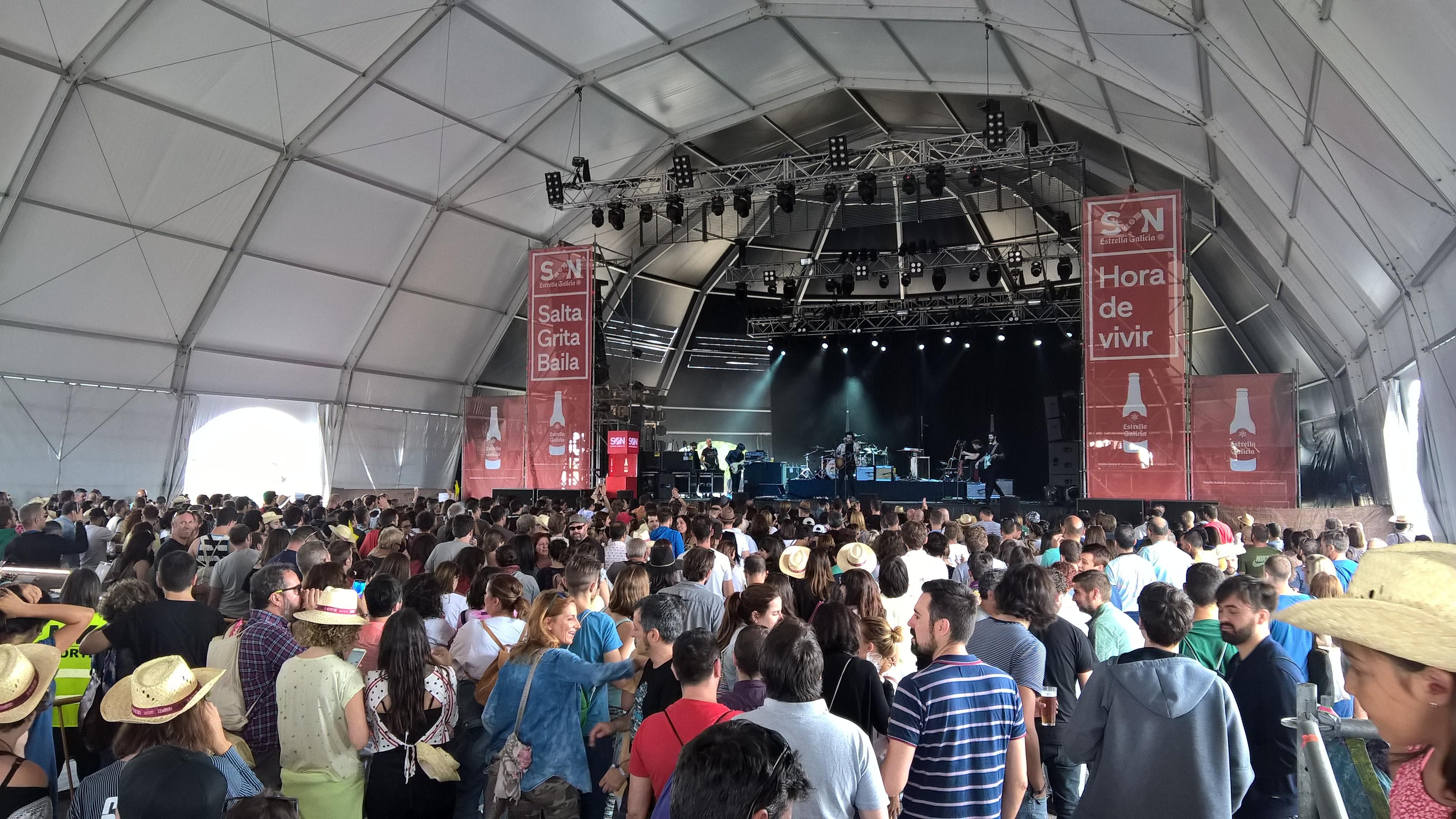 O Atlantic Fest abre o verán dos grandes festivais dobrando a asistencia da primeira edición