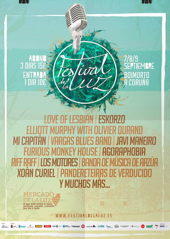O seguinte Festival de La Luz farase en apoio da loita contra o lume