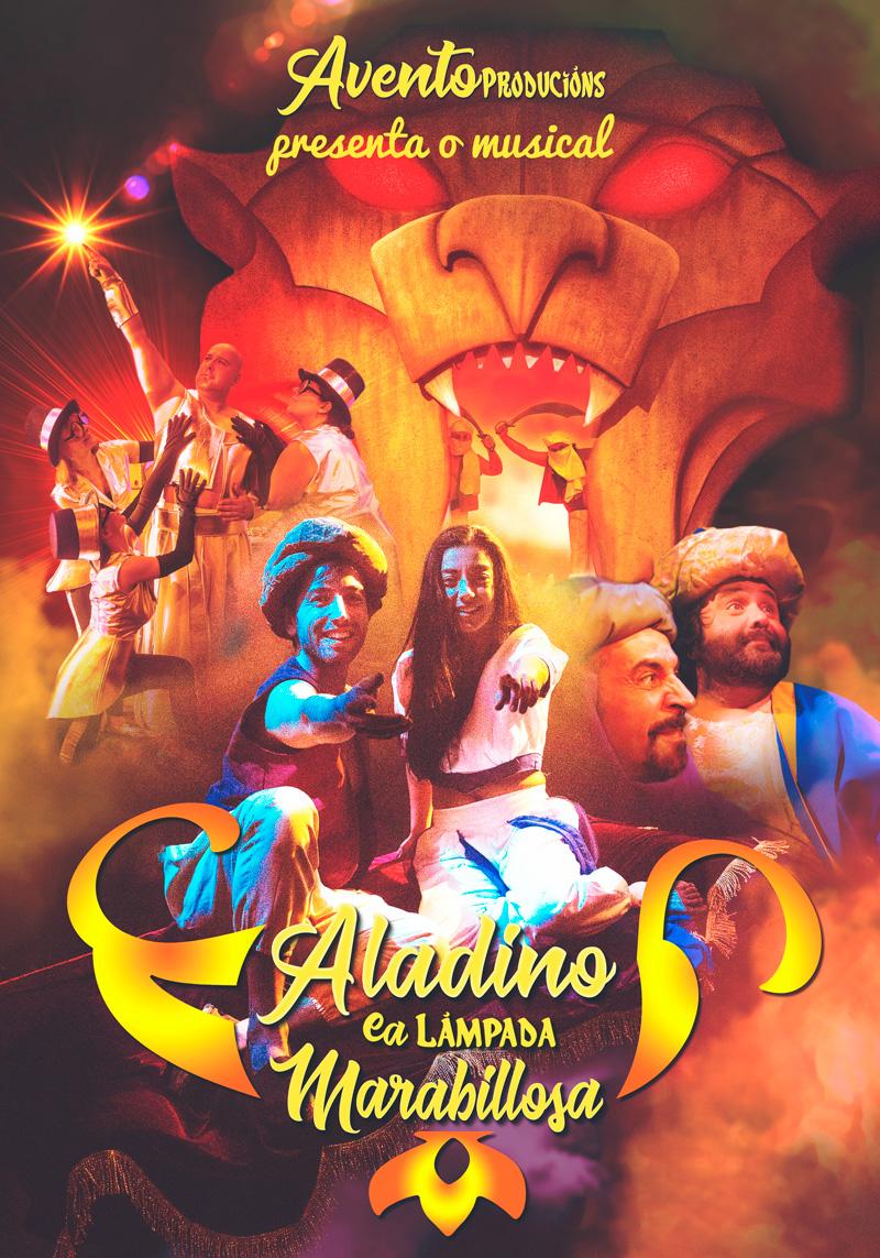 A compañía viguesa porá en escena 'Aladino e a lámpada marabillosa' dous fins de semana