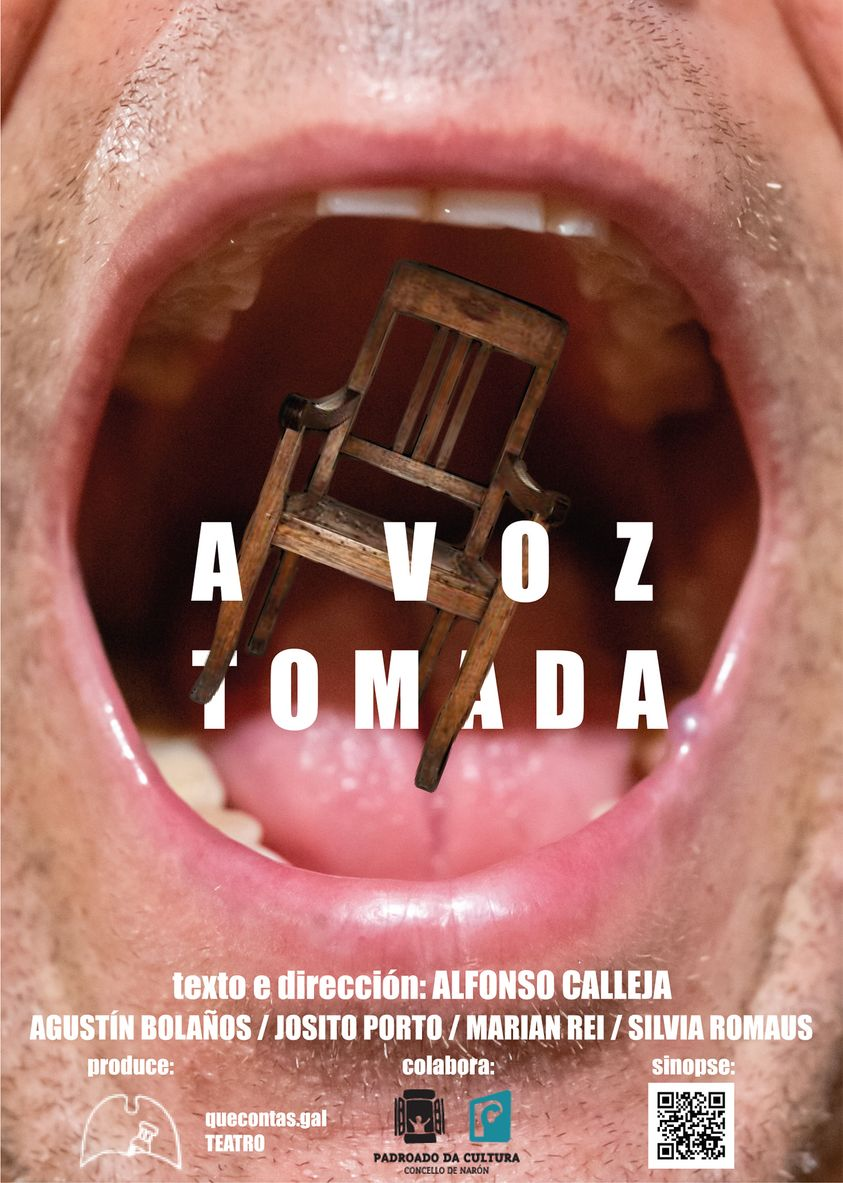<i>A voz tomada</i> poderá verse no Pazo da Cultura de Narón os días 22 e 23 de xaneiro