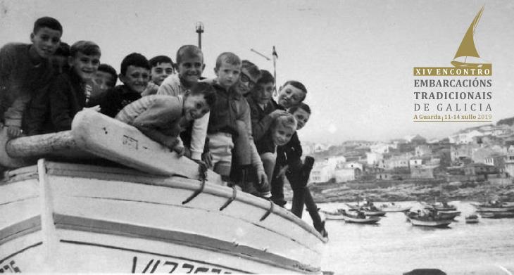 As embarcacións tradicionais celebran na Guarda o seu XIV Encontro