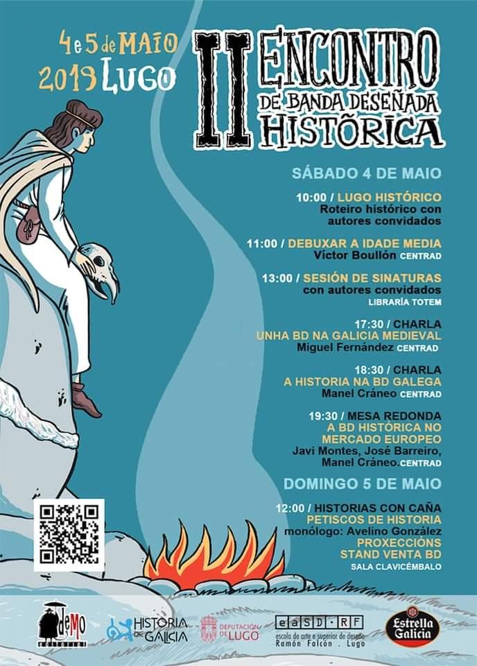 O II Encontro de BD Histórica chega a Lugo