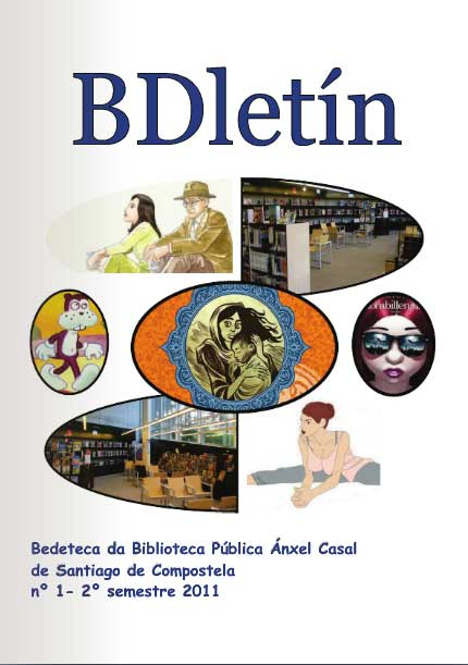 A Biblioteca Ánxel Casal tira unha publicación centrada na banda deseñada