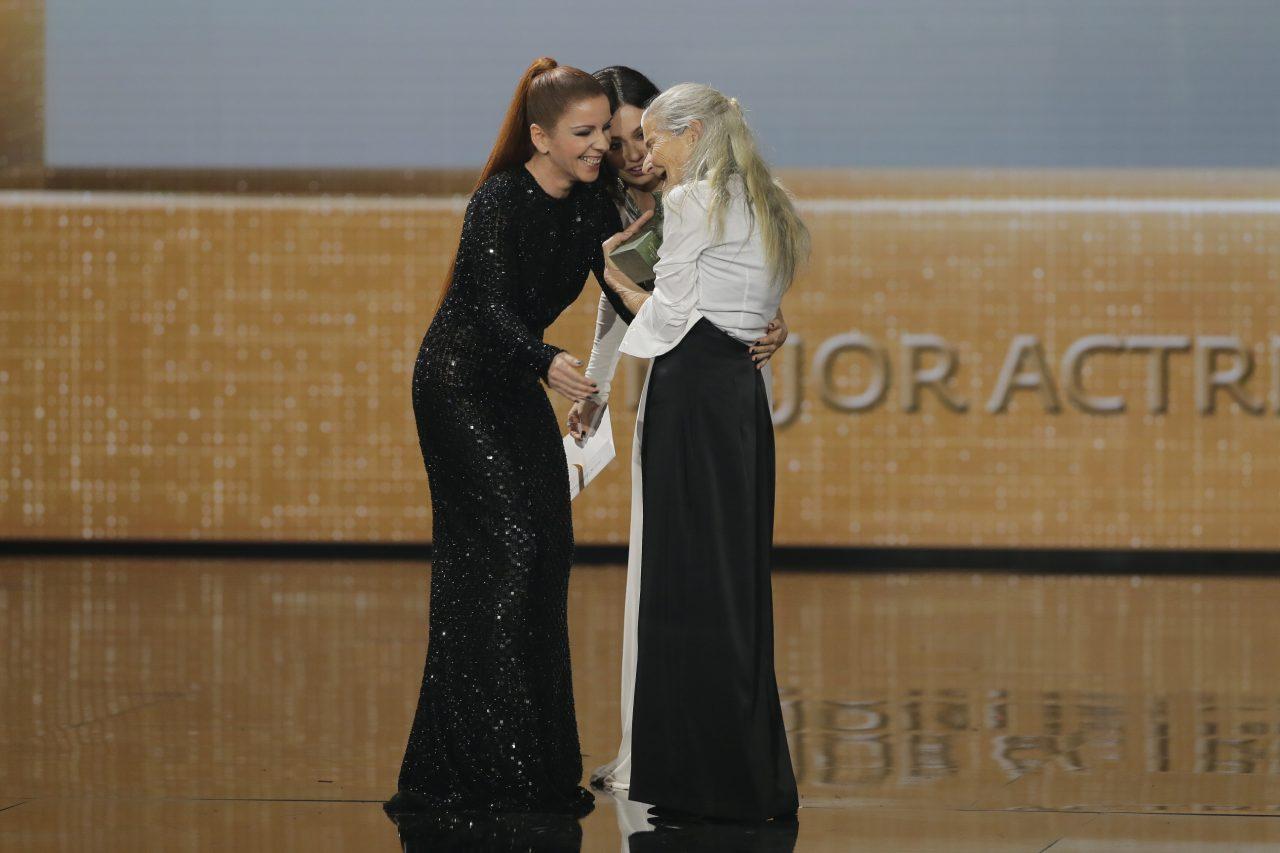 Benedicta Sánchez levou o premio á actriz revelación e Mauro Herce o de dirección de fotografía