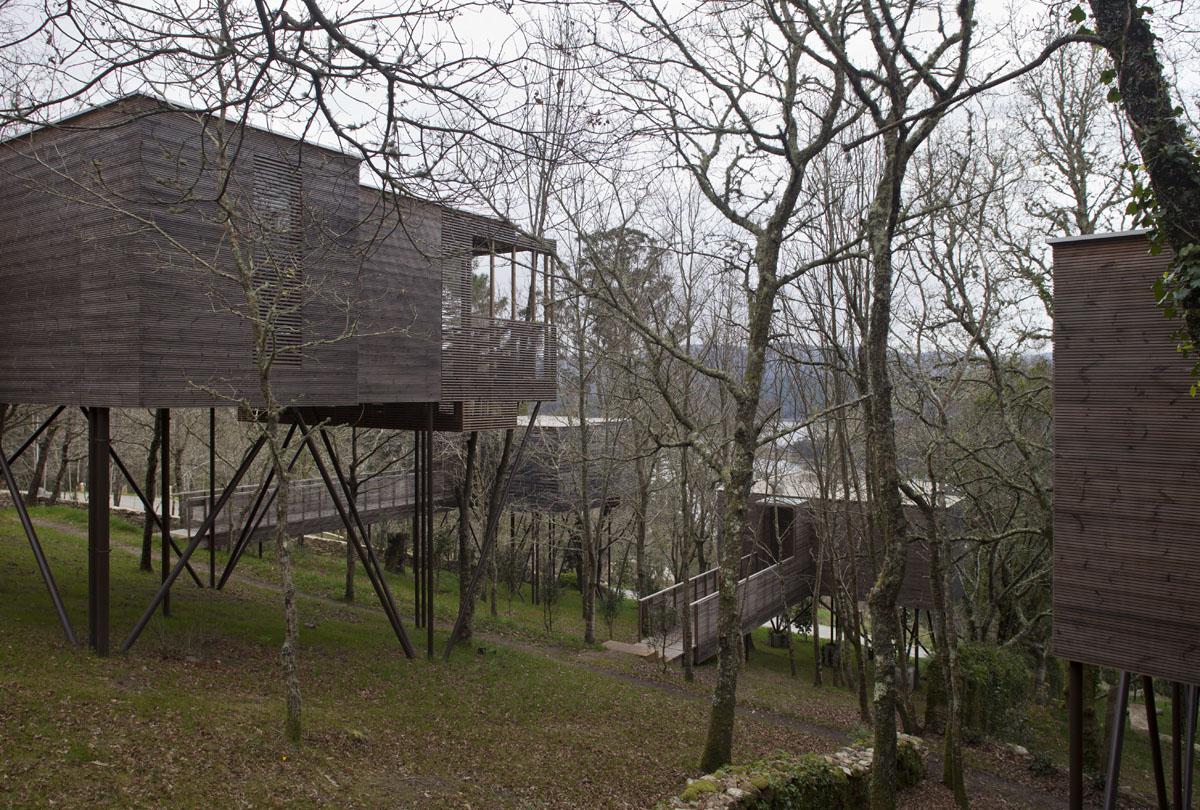 As Cabanas de Albeida levan o Premio de Arquitectura e Urbanismo do CSCAE
