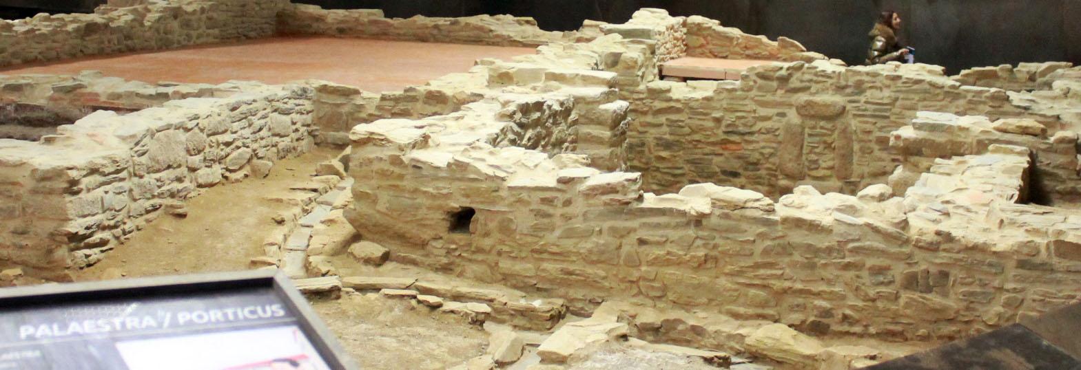 A empresa Reganosa sufragou este espazo dedicado ao deporte e aos valores termais na cultura romana