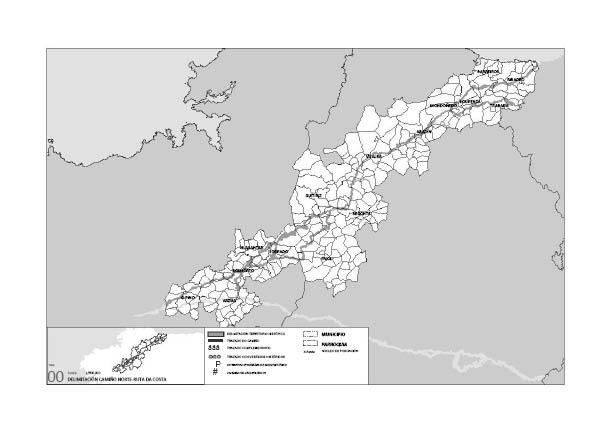 A proposta fai converxer a ruta co Camiño Francés directamente en Santiago