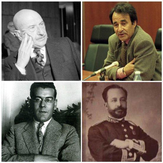 Carvalho Calero, Carlos Casares, Plácido Castro e Antonio Fernández Morales son os candidatos