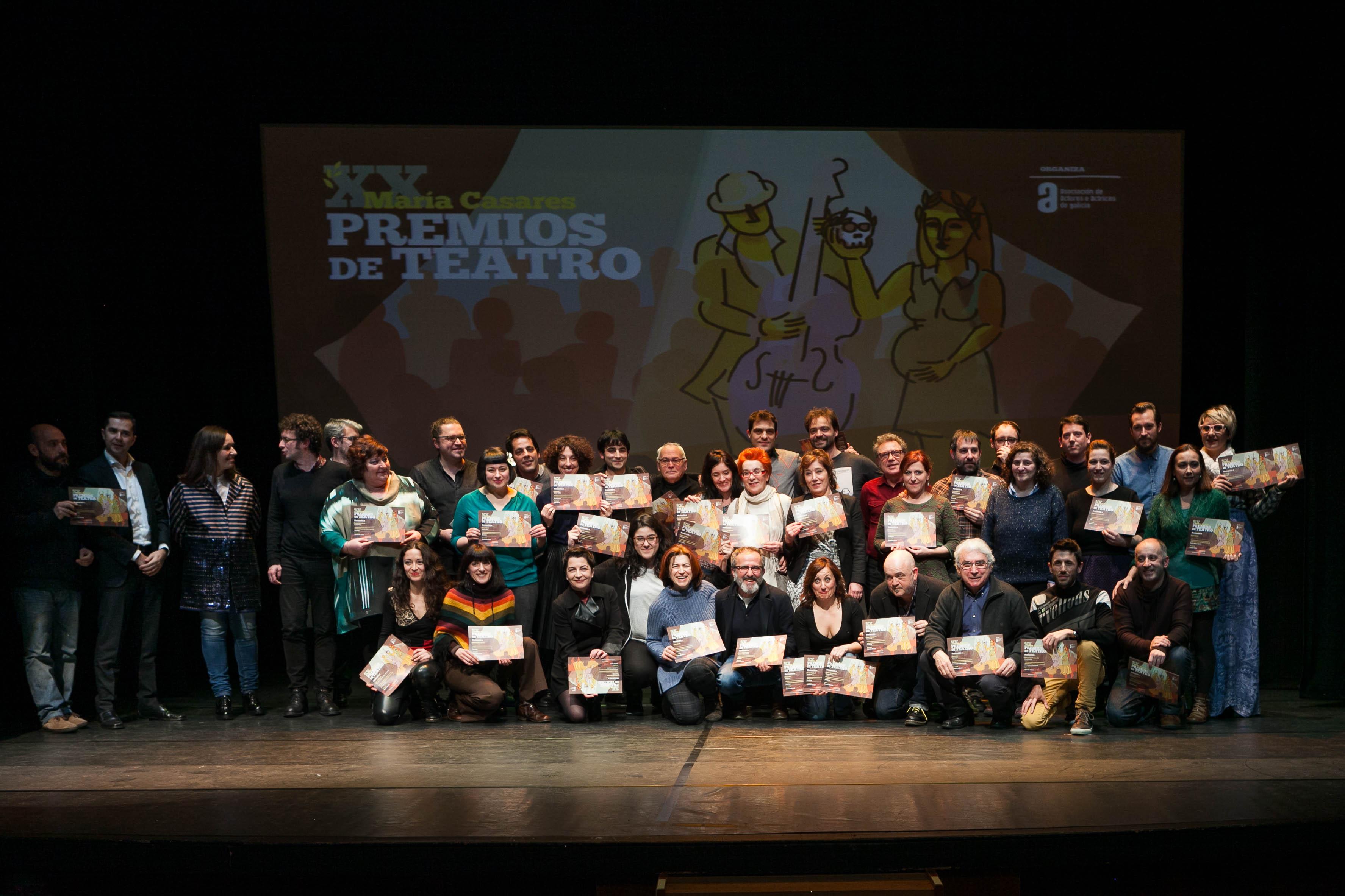 A Asociación de Actores e Actrices entregará os galardóns o 30 de marzo na Coruña