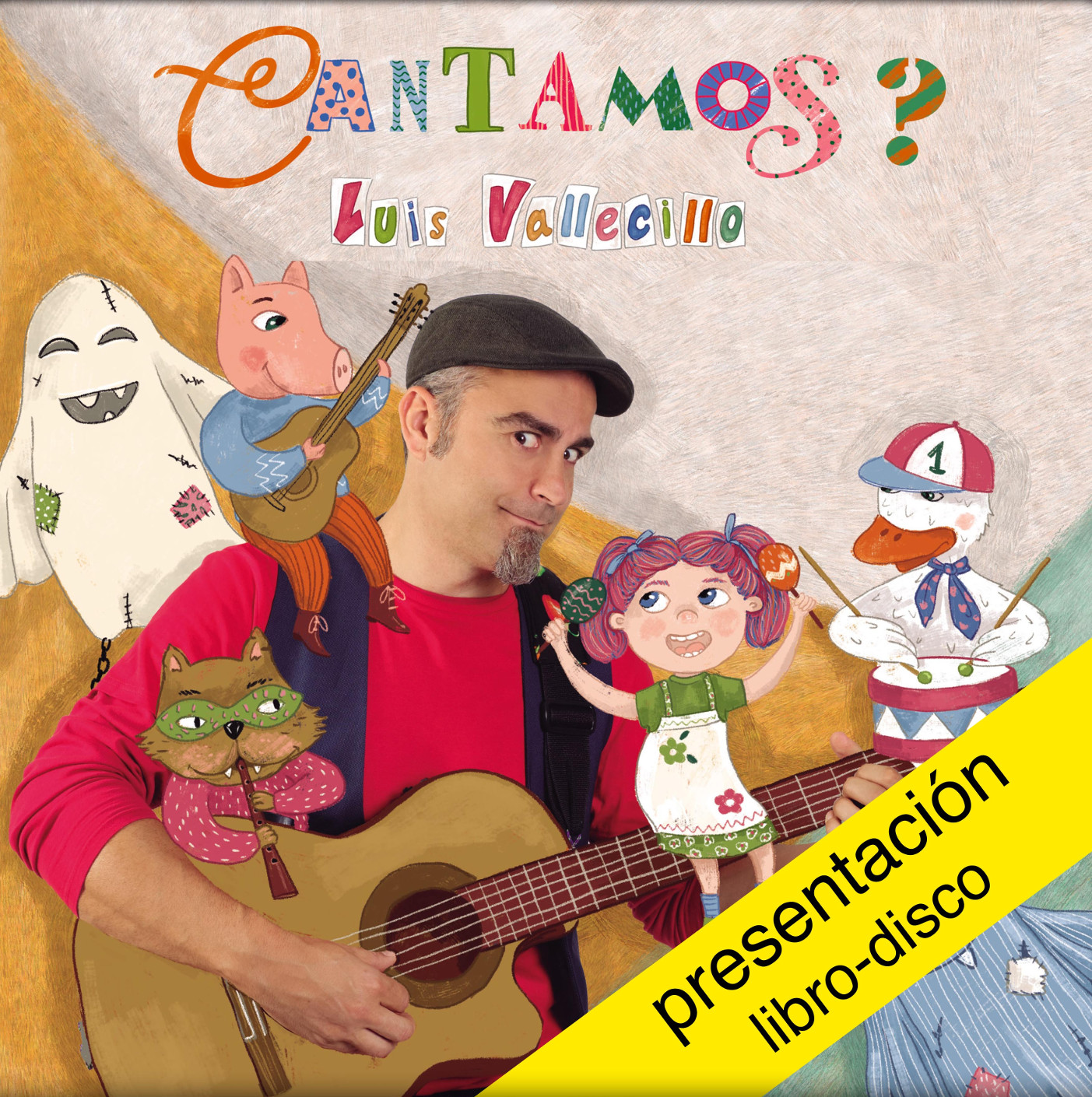 Luís Vallecillo musica contos clásicos en <i>Cantamos?</i>