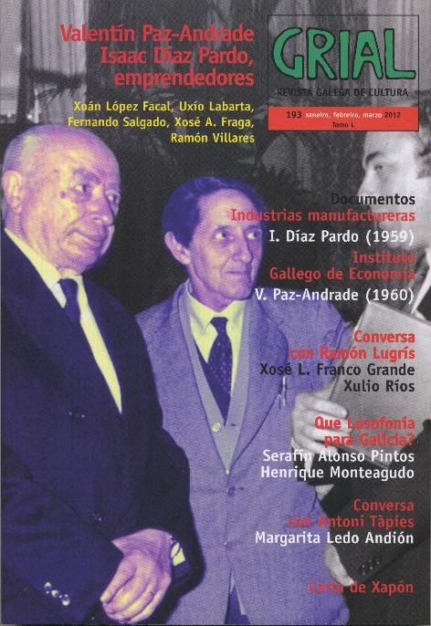 Valentín Paz Andrade e Isaac Díaz Pardo protagonizan o novo número da revista