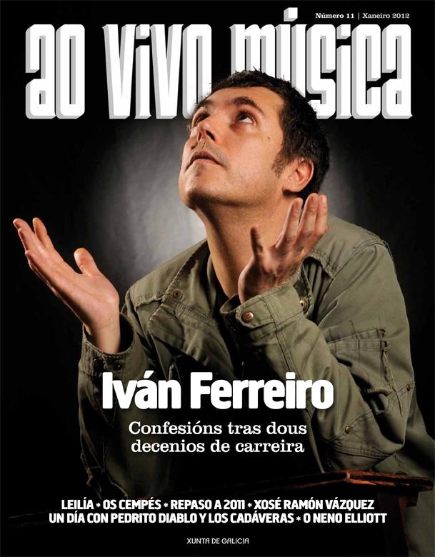 Iván Ferreiro, Leilía e Os Cempés protagonizan a entrega da revista da Rede de Música ao vivo