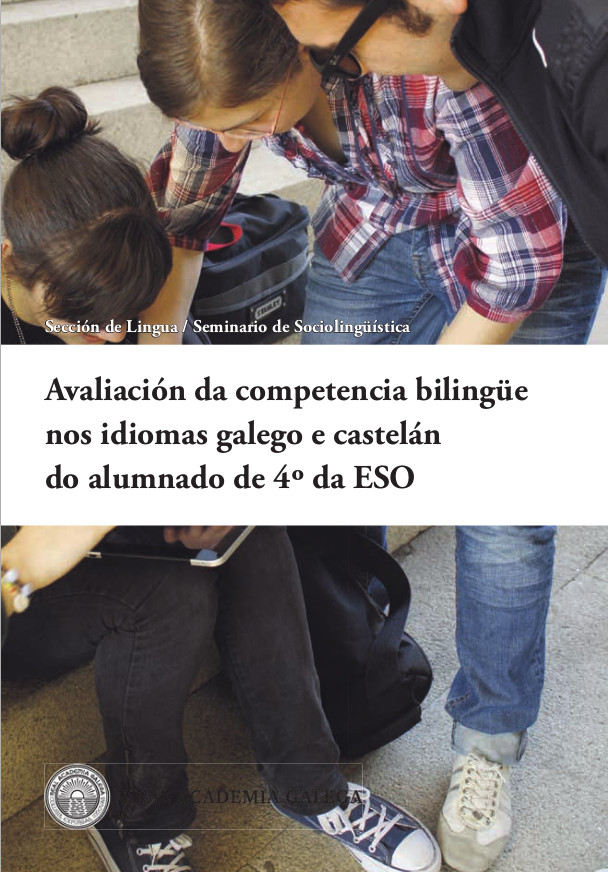 A RAG presentou a súa análise sobre a competencia bilingüe do alumnado de 4º da ESO