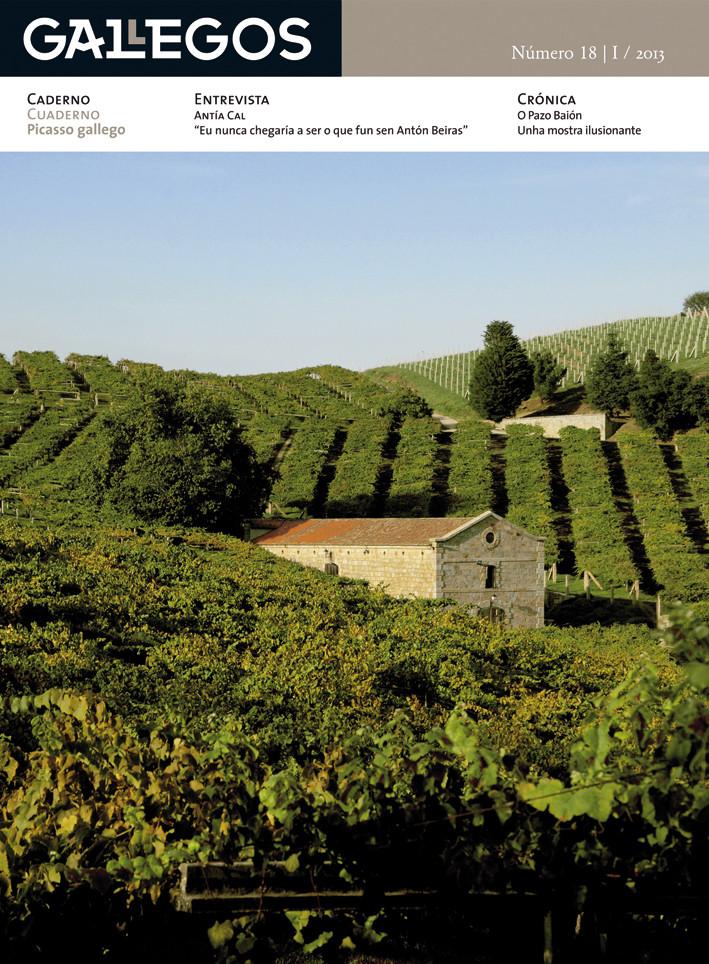 A etapa galega de Picasso centra a nova entrega da revista de Ézaro Ediciones