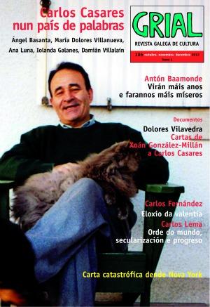 O volume, centrado no décimo cabodano de Carlos Casares, preséntase hoxe en Ourense