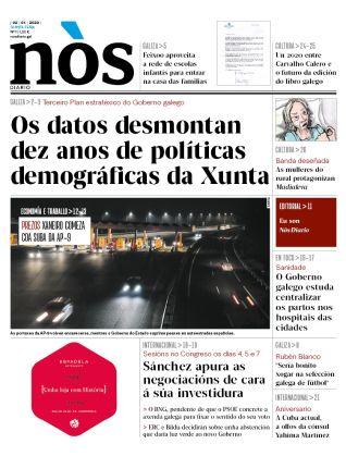 O primeiro número do xornal en galego esgotouse en moitos dos puntos de venda