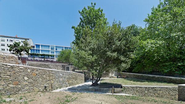 O galardón recoñece o seu proxecto para as Hortas de Caramoniña en Compostela