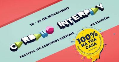 A sétima edición do festival de contidos dixitais faise integramente virtual