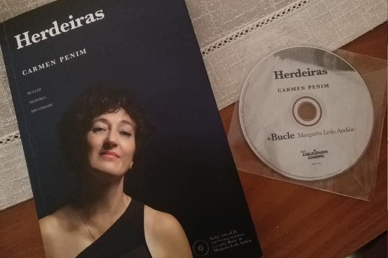 Carmen Penim canta sobre a represión en <i>Herdeiras</i>