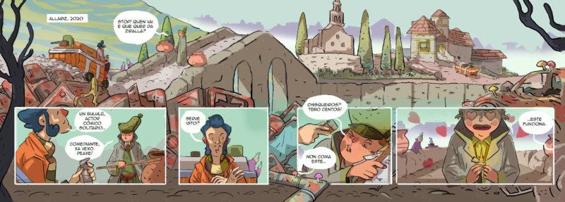 Xerais presenta a serie <i>Lendas do recreo</i> e Aira lanza en aberto <i>Carriandola</i>