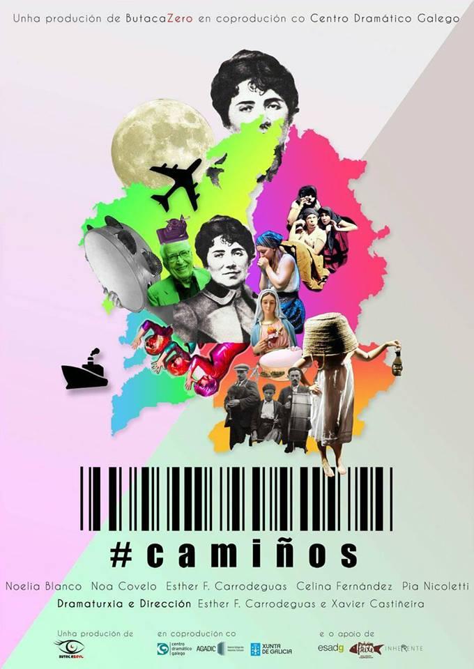 O Salón Teatro de Compostela acolle a estrea desta coprodución co Centro Dramático Galego