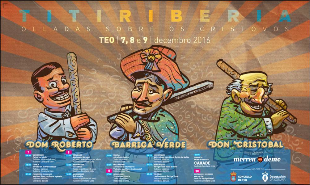 Titiriberia desenvólvese entre o 7 e o 9 de decembro vindeiros